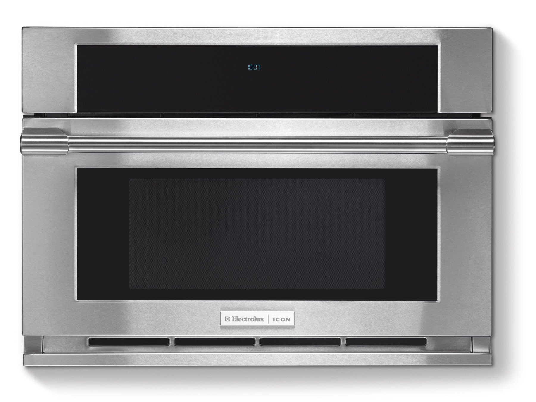 Electrolux Icon Stainless Steel Built in Microwave w Drop Down Door E30MO75HPS 012505559082