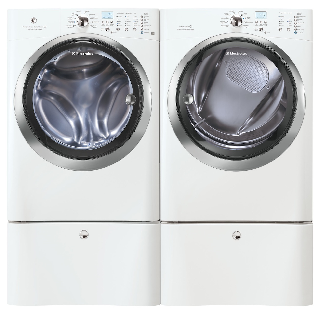 Electrolux White Front Load Washer and ELECTRIC Dryer ...