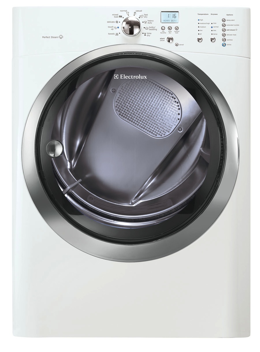 Electrolux White Front Load Washer And Electric Dryer