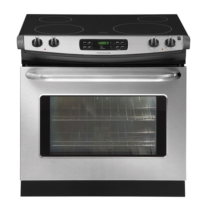 NEW Frigidaire Stainless Steel Drop In Electric Range FFED3025LS