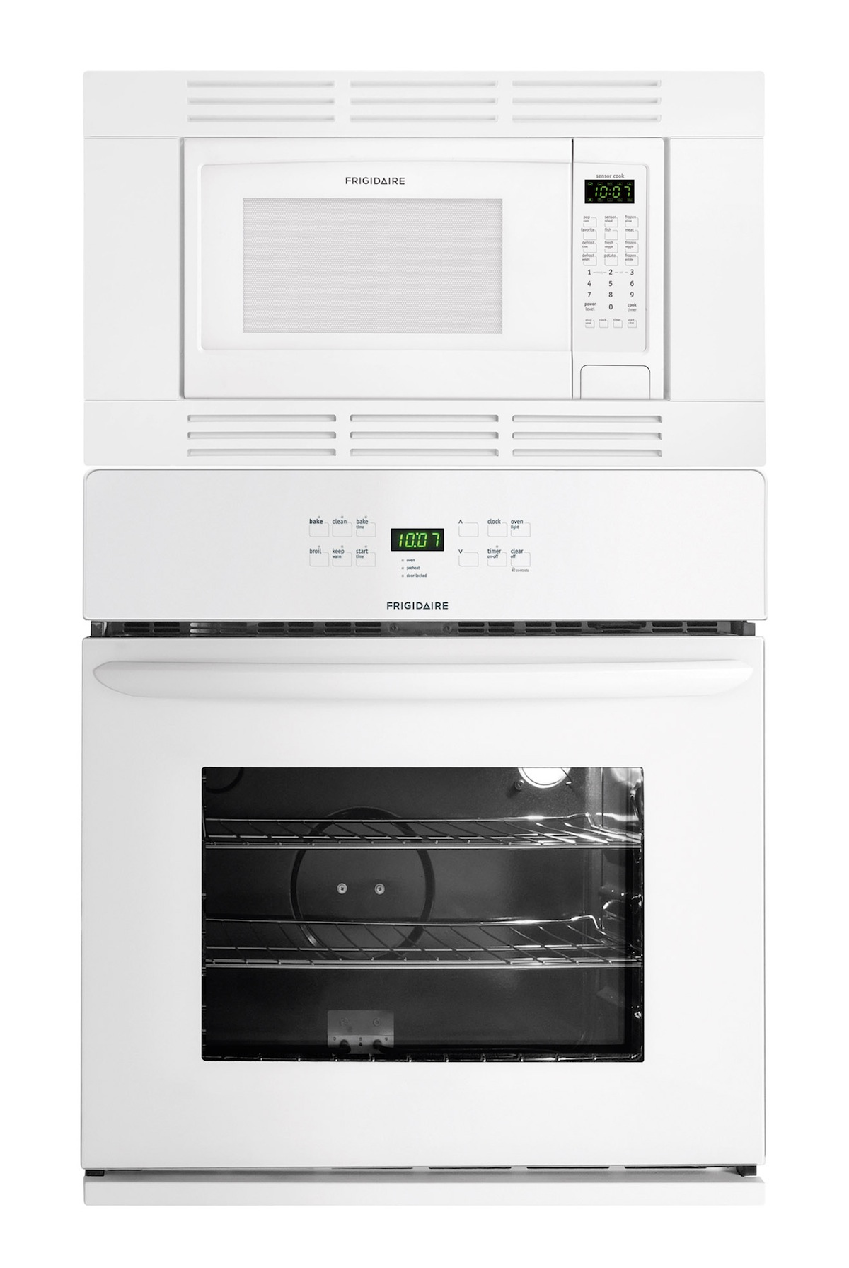 Frigidaire 27 Quot 27 Inch White Electric Self Cleaning Wall