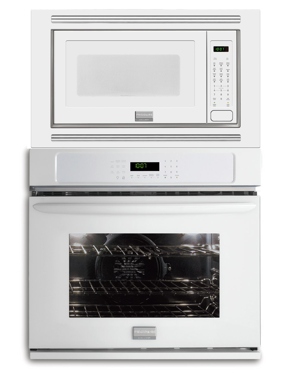 New Frigidaire Gallery White 27 Convection Wall Oven