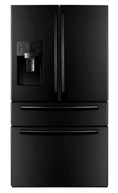 new samsung black french door 28 cu ft 4 door refrigerator. Black Bedroom Furniture Sets. Home Design Ideas
