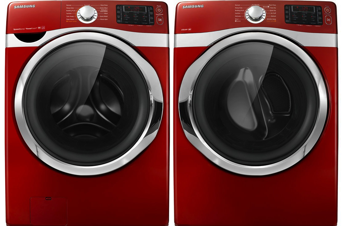 Washer And Dryers Samsung Smart Washer And Dryer