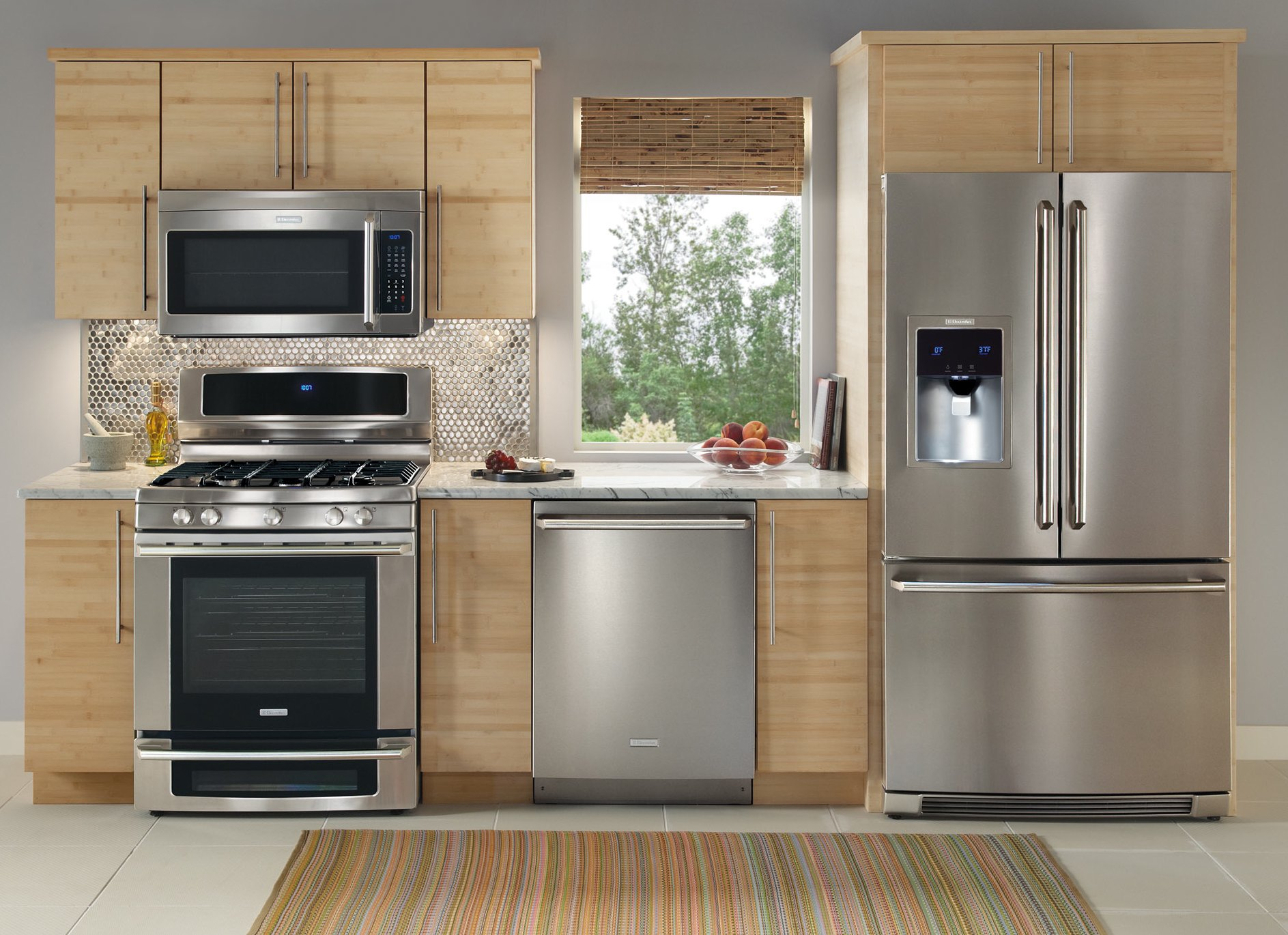 Electrolux Stainless Steel Appliance Package With Side By